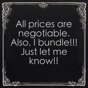 Other - Don't be shy.....make me an offer